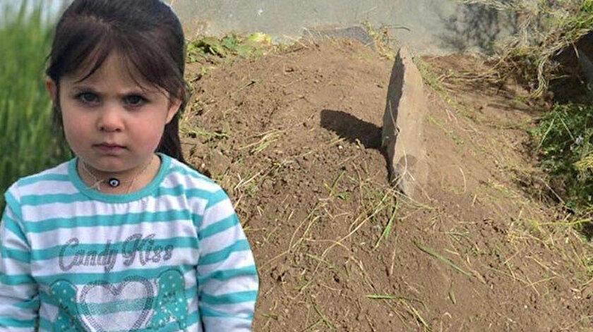 4 yaşındaki Leyla Aydemir.