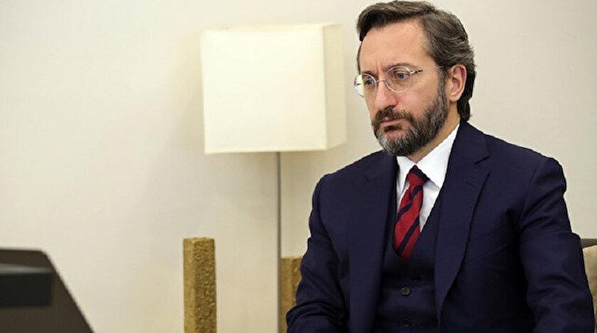 Cumhurbaşkanlığı İletişim Başkanı Fahrettin Altun.