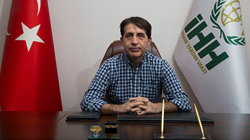 Madde bağımlılığı ile alakalı tüm faaliyetleri organize eden ve saha raporunu hazırlayan İHH Mütevelli Heyeti Üyesi Osman Atalay.