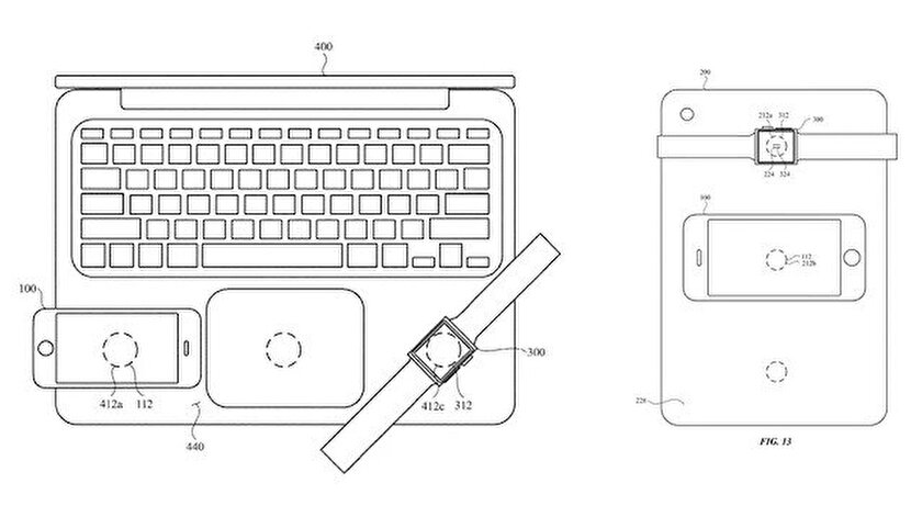 Appleın yeni kablosuz şarj patenti ortaya çıktı