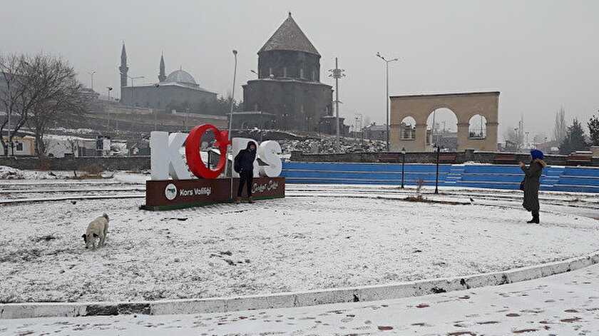 Doğu Anadoluda gece en düşük sıcaklık Karsta ölçüldü