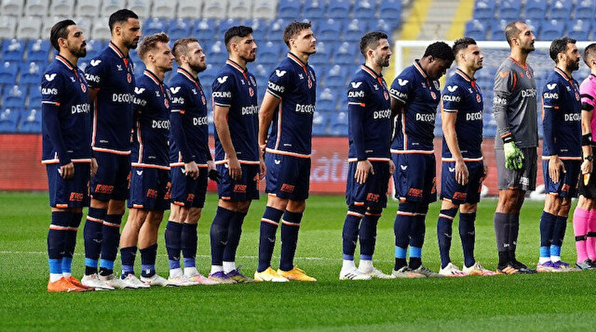 Başakşehir'in Ankaragücü maçındaki 11'i