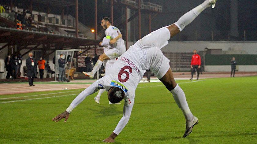 Boupendza'nın gol sevinci.