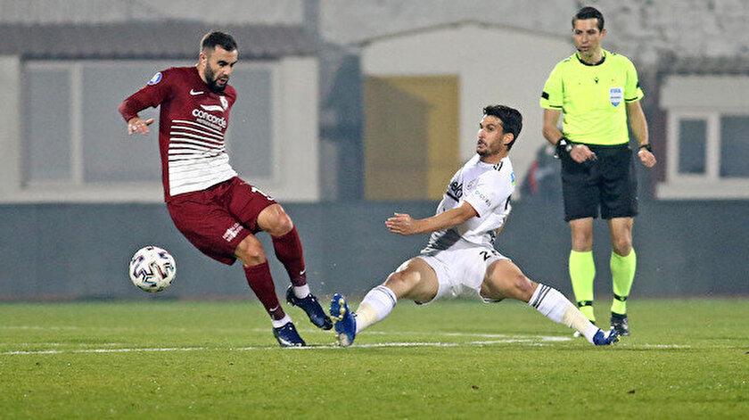 Hatayspor ile Beşiktaş 2-2 berabere kaldı.