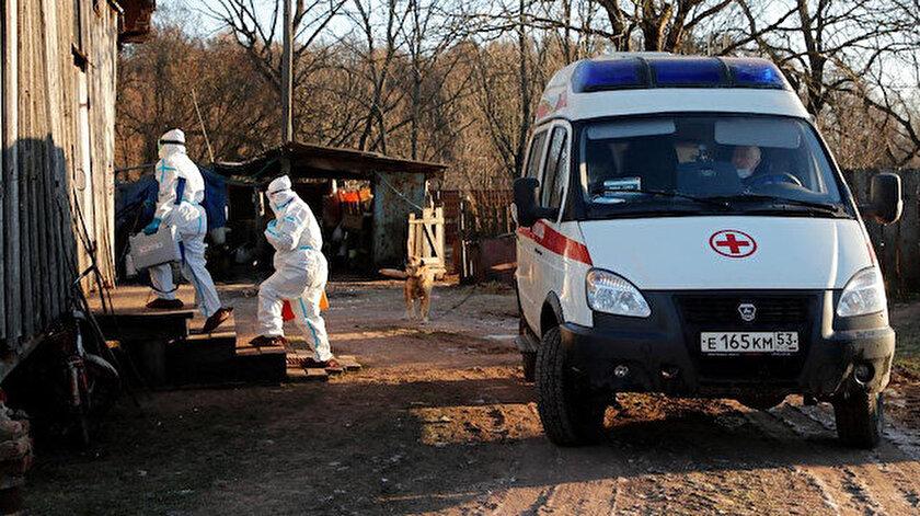 Rusyaya da sıçradı: Kovid-19'un daha hızlı bulaşan türüne rastlandı