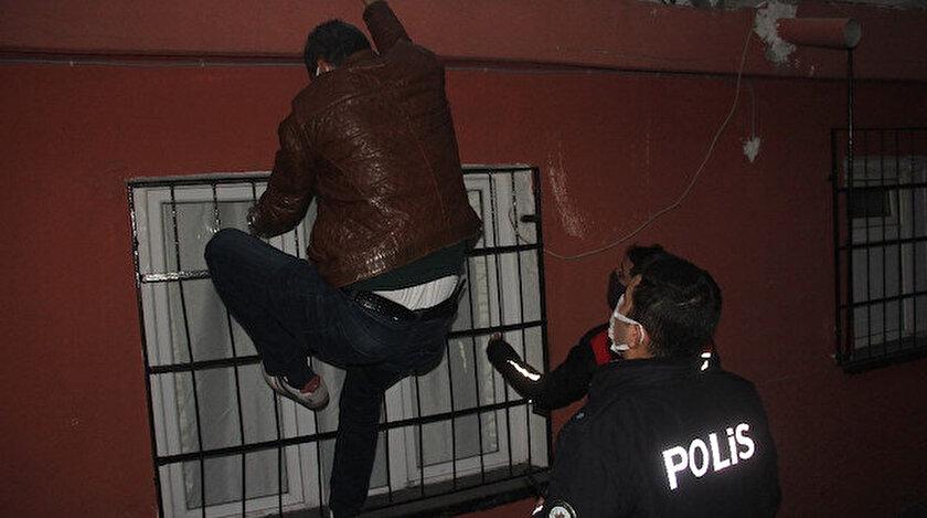 Polis zanlıyı gözaltına alarak polis merkezine götürdü.