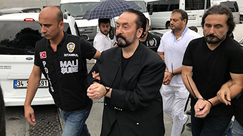 Adnan Oktar, 2018'de gözaltına alınmıştı.