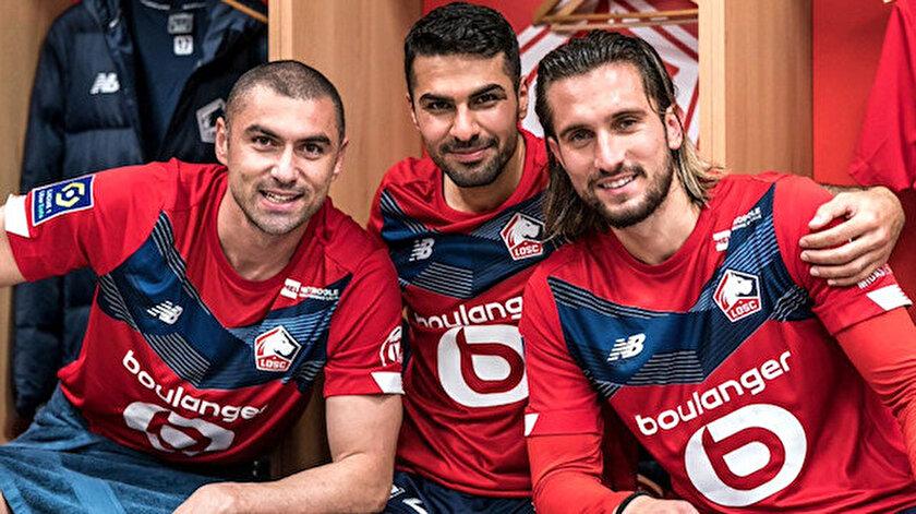 Burak Yılmaz, Zeki Çelik ve Yusuf Yazıcı, Lille'in bu sezonki başarısında başrolü oynuyor.