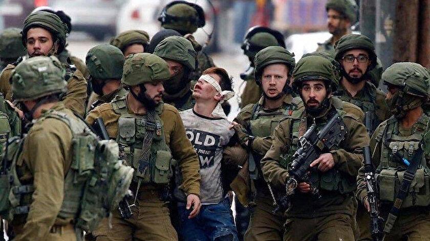 İsrail, 1967'den bu yana 50 binden fazla Filistinli çocuğu gözaltına aldı.