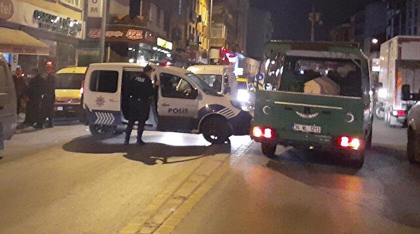 Bayrampaşa'da bir anne çocuğunun gözü önünde boğularak öldürüldü.