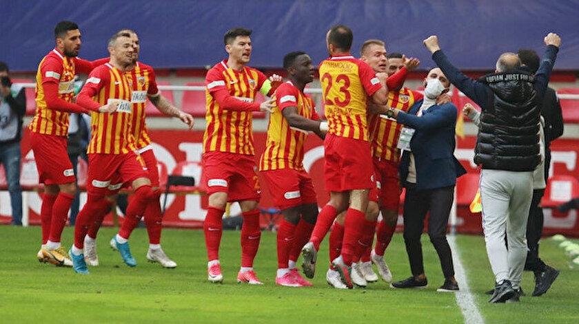 Sarı-kırmızılılar bu sezon ilk kez üst üste 2 maç kazandı.
