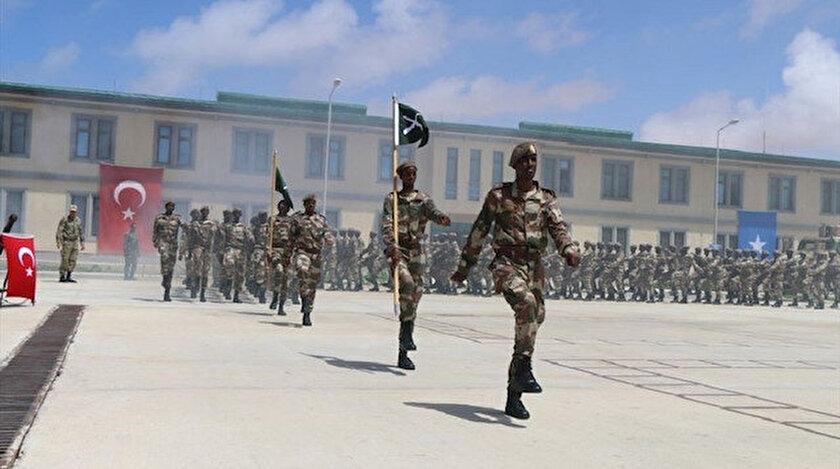 Türkiye'nin yurt dışındaki en büyük askeri eğitim merkezi Somali'de bulunuyor.