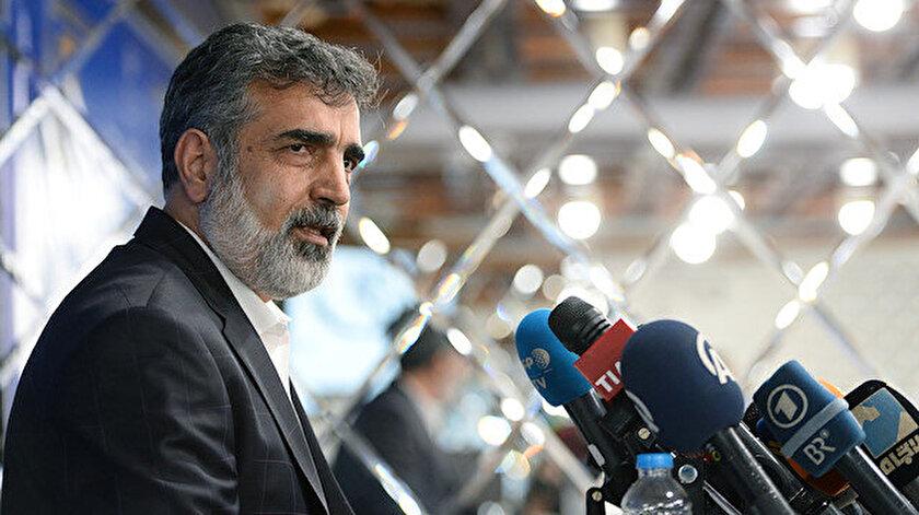 İran Atom Enerjisi Kurumu Sözcüsü Behruz Kemalvendi.