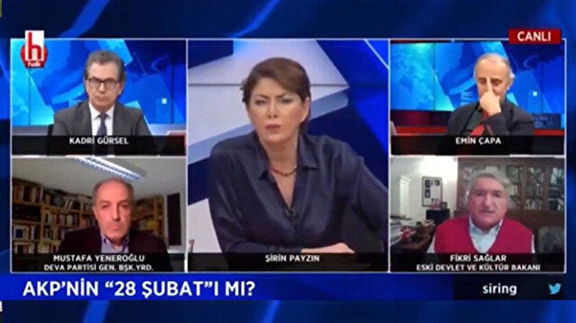RTÜK'ten CHPli Sağların başörtülü hakimlere yönelik sözleri nedeniyle Halk TVye ceza