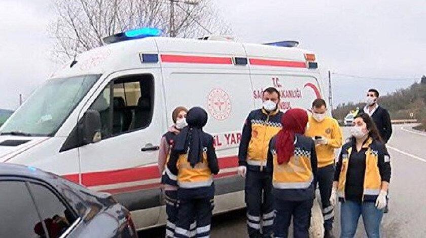 Bölgeye çok sayıda polis, itfaiye ve acil servis ekibi sevk edildi.