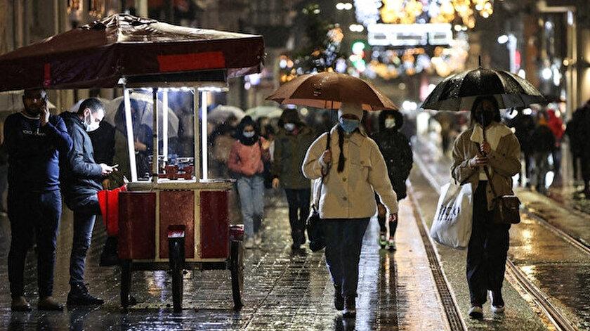 İstanbul'da 9 Ocak'tan bu yana yağmur yağışı etkisini sürdürüyor.