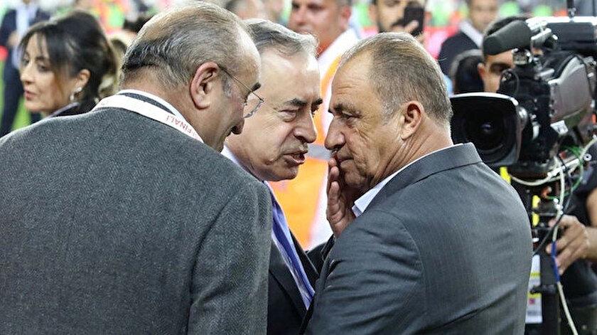 Galatasaray Başkanı Mustafa Cengiz, teknik direktörü Fatih Terim ile yola devam edeceklerini söyledi.