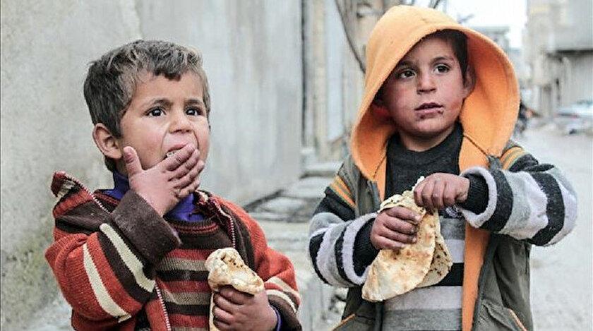Rapor ekonomik sıkıntılardan en çok etkilenenlerin çocuklar olduğuna dikkati çekiyor.