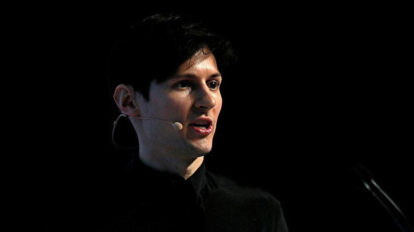 Telegram'ın kurucusu Pavel Durov.