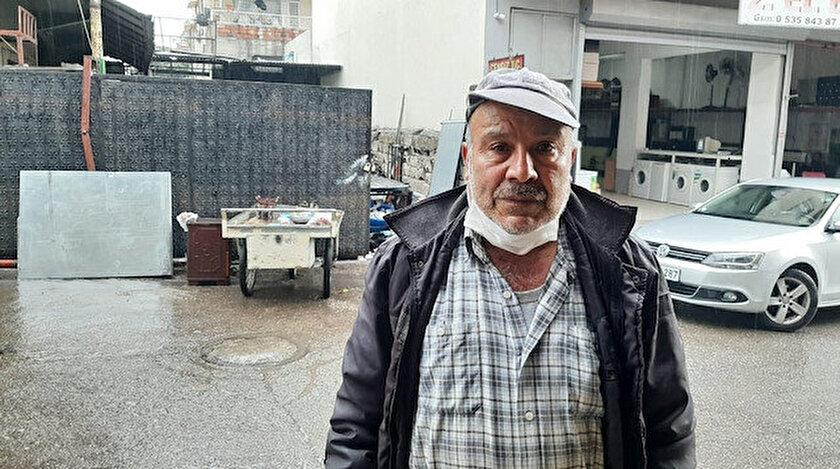 Osmaniye'de hurdacılık yapan vatandaş, ekmeğini kazandığını çöpten ekmek toplamadığını söyledi.