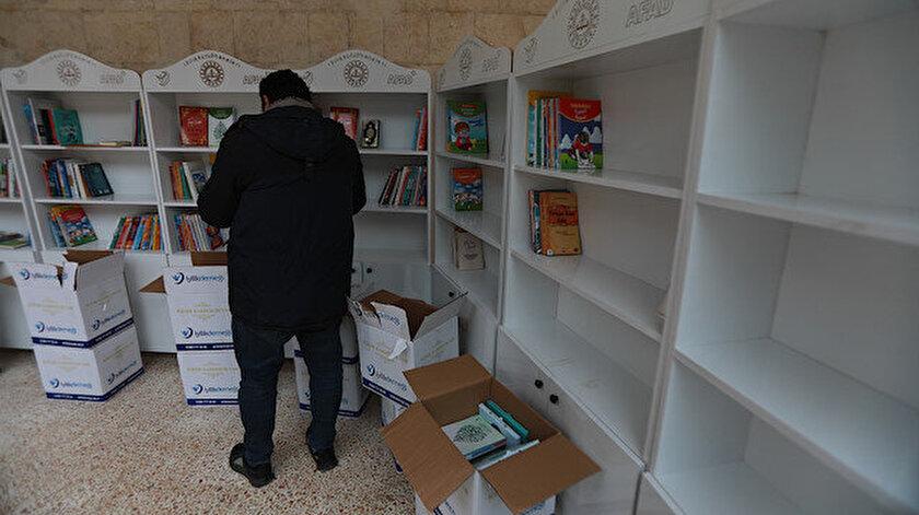 Okul kütüphanelerinde Arapça, Kürtçe ve Türkçe basılmış kitap ve eserler yer alacak.