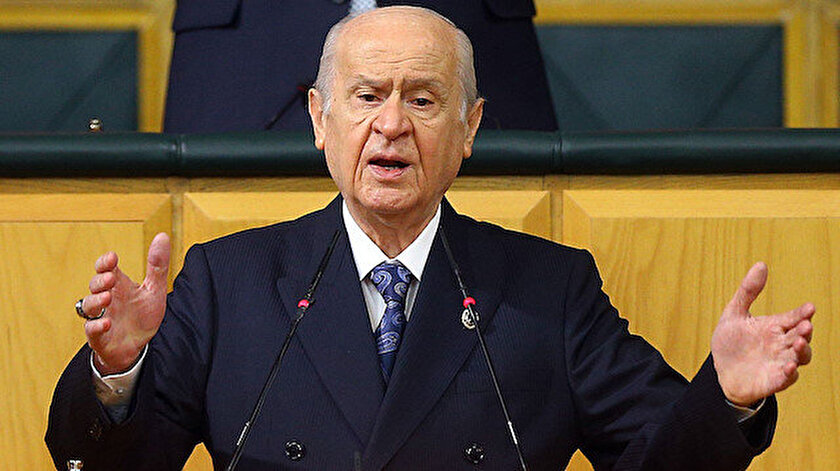 MHP Genel Başkanı Bahçeli
