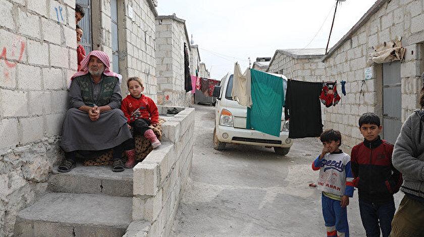 Cumhurbaşkanı Erdoğan, AB liderlerine Suriye'de inşa edilen briket kentleri birlikte gezme teklifinde bulunmuştu.