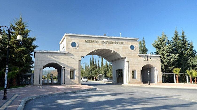 Mersin Üniversitesi.