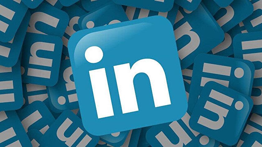"""Sosyal paylaşım platformu """"LinkedIn"""" de Türkiye'ye temsilci atayacağını bildirdi."""