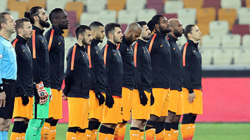 Galatasaray'ın Yeni Malatyaspor maçındaki 11'i