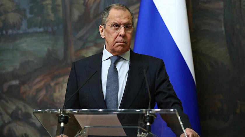 Lavrov, 2020 yılını değerlendirdiği çevrim içi basın toplantısı düzenledi.
