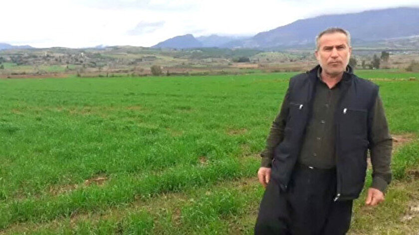 Osmaniyeli çiftçi, yağan yağmurlarla birlikte bir dahaki seneye kadar kuraklık yaşanmayacağını söyledi.