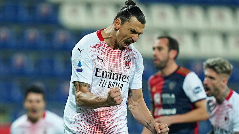 Zlatan Ibrahimovic, takımını sırtlamaya devam ediyor.