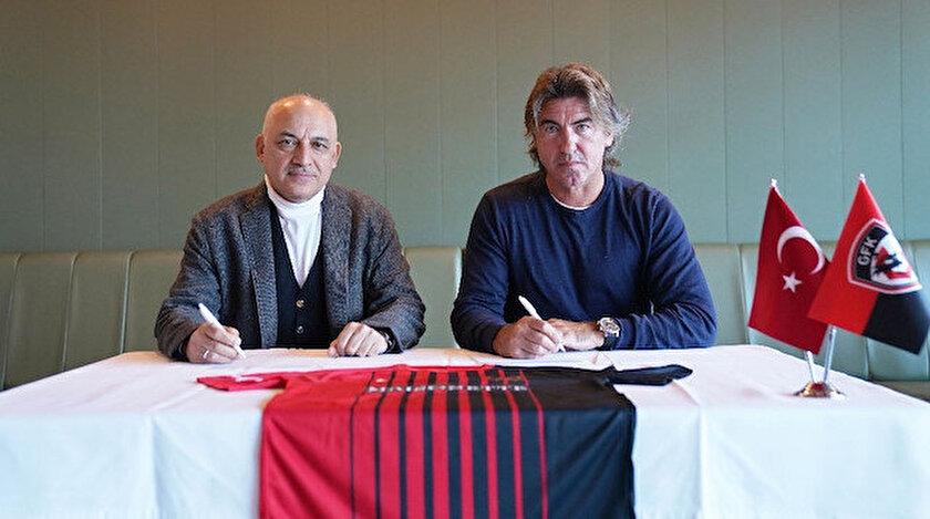 Gaziantep FK, Sumudica yerine Ricardo Sa Pinto ile anlaştı.
