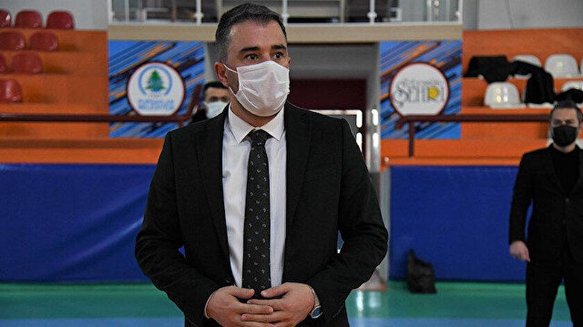 Belediye Başkanı Ertuğrul Çetin.