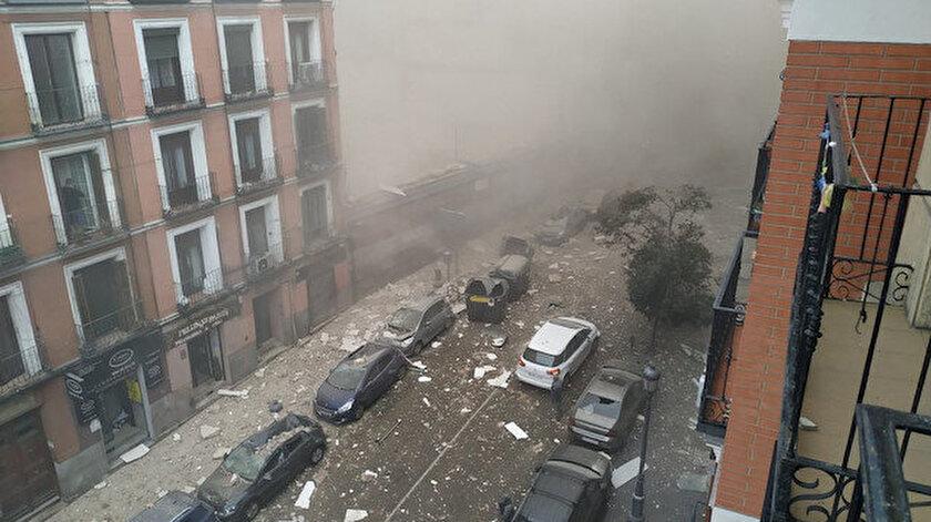 İspanya'da patlama.