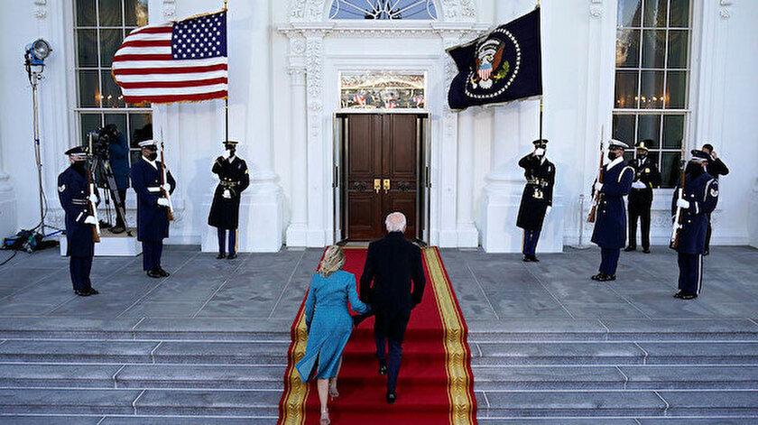 Joe Biden Beyaz Saray'da.