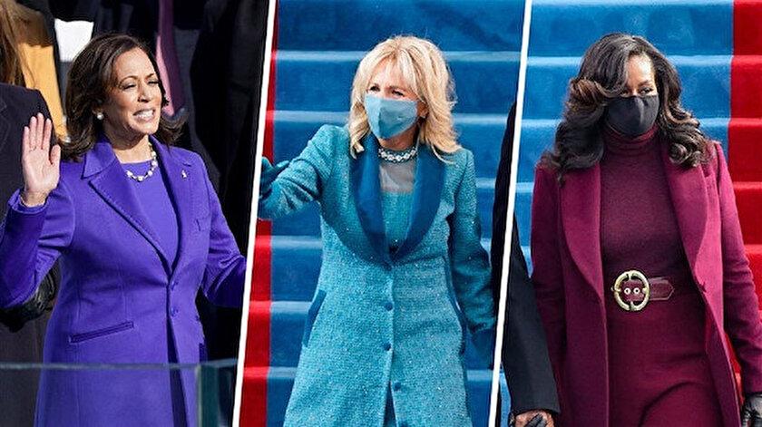 Biri mavi biri kırmızı biri mor giydi: Renklerle hangi mesajları verdiler?
