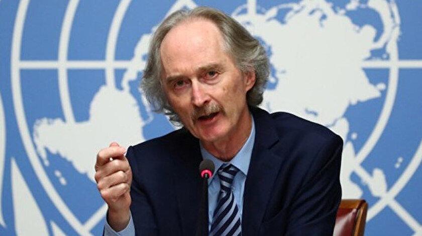 BM Suriye Özel Temsilcisi Geir O. Pedersen