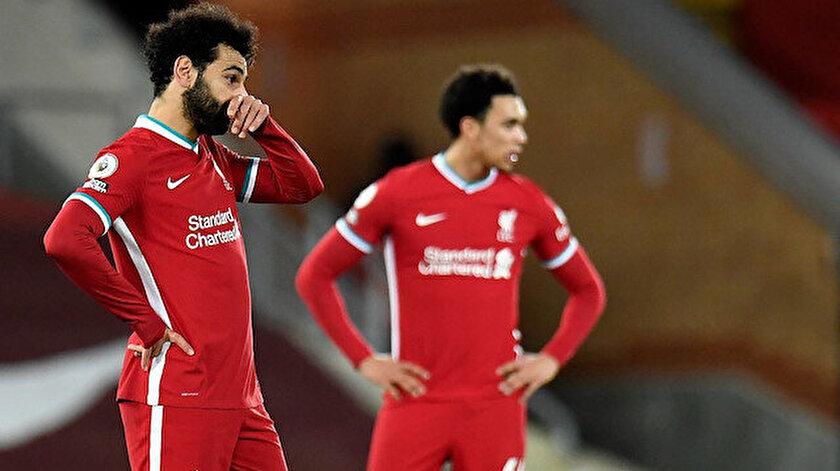 Liverpoollu futbolcular maç sonu büyük üzüntü yaşadı.
