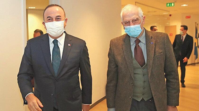 Bakan Çavuşoğlu - Josep Borrell