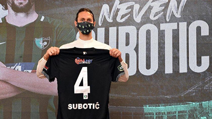 Subotic'in transferi büyük ses getirmişti.