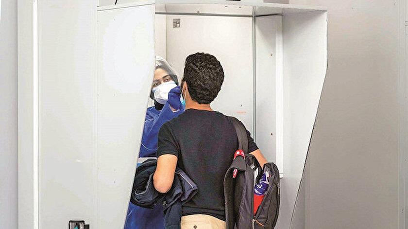 Havalimanında antikor testi yaptırmak isteyen yolcular daha önce koronavirüs geçirip geçirmediklerini kontrol edebilecekler.
