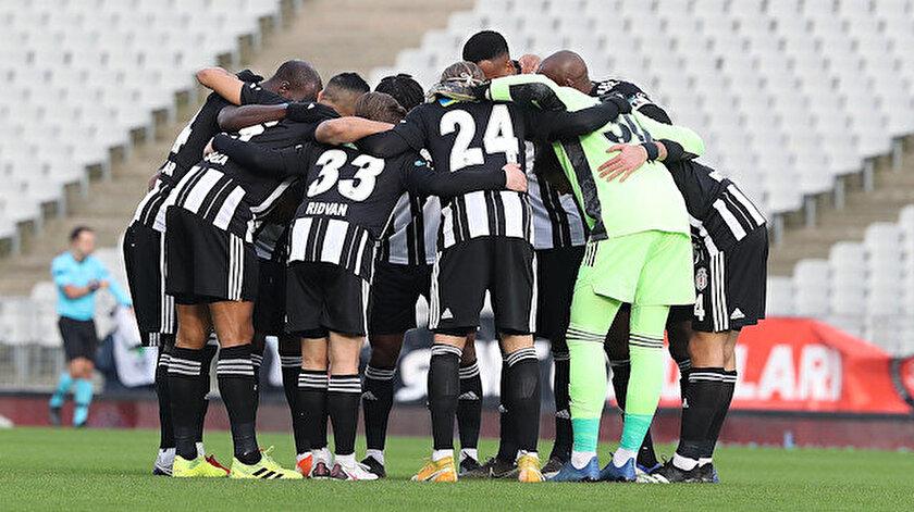 Siyah-beyazlılar 41 puanla Süper Lig'in zirvesinde yer alıyor.