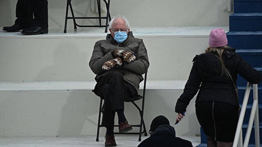 Yemin töreninde Joe Bidendan daha çok konuşulmuştu: Eldivenleri yardım kampanyasına dönüştürecek