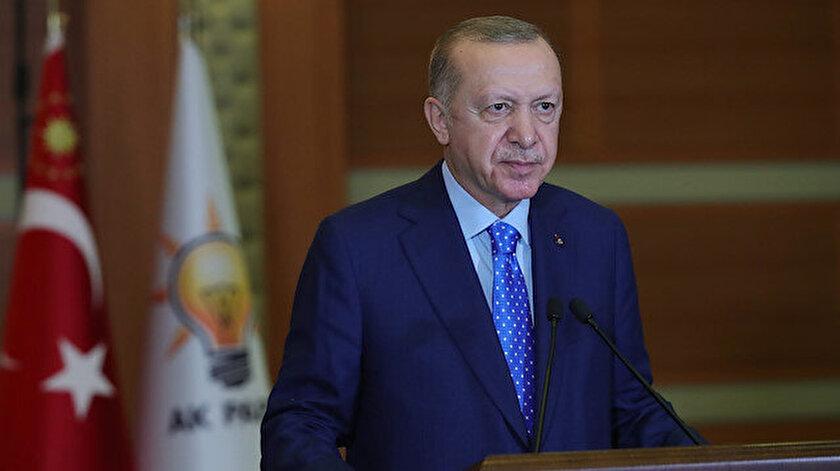 Cumhurbaşkanı Erdoğan İl Kongreleri'ne canlı bağlantı ile katıldı.