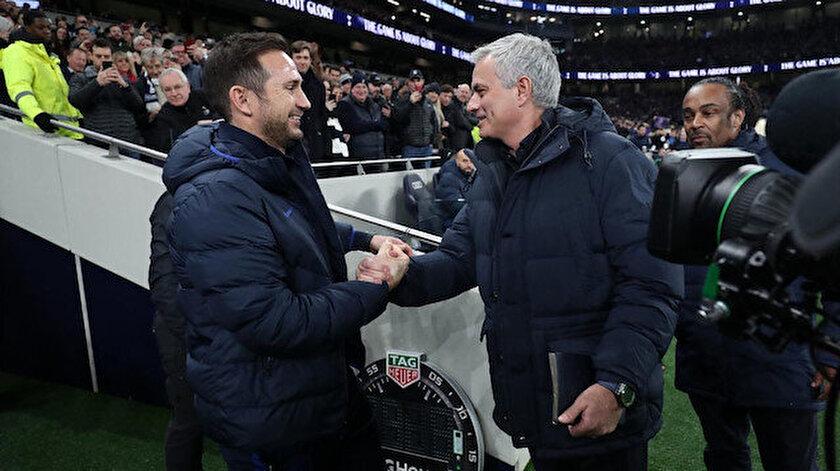 Frank Lampard ve Jose Mourinho