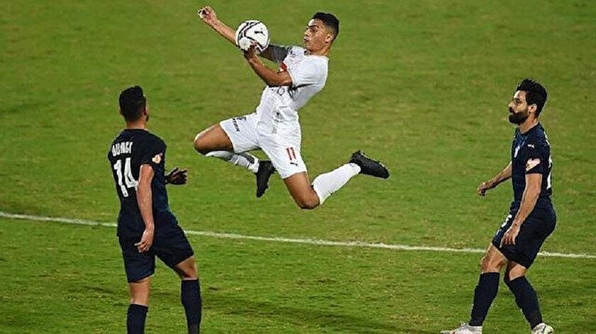 Mostafa Mohamed, Zemalek kulübünün en etkili isimlerinden biri olarak gösteriliyordu.