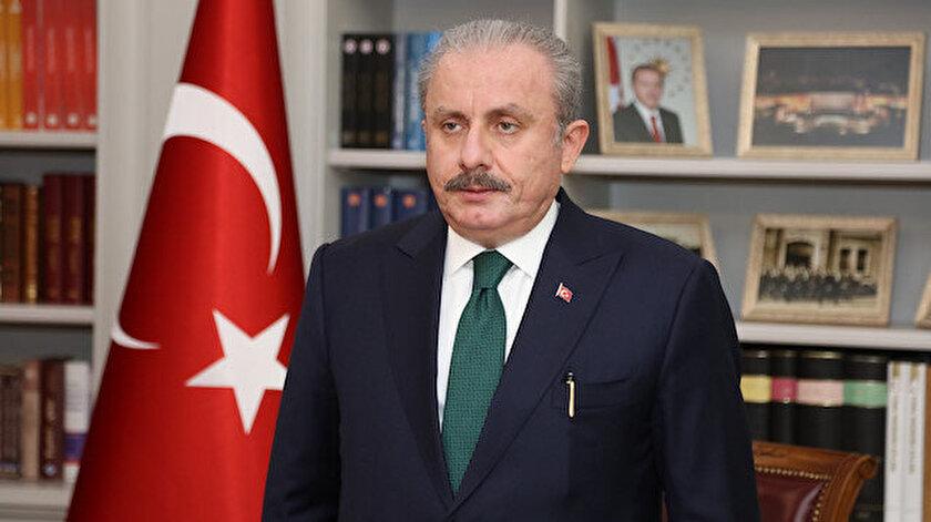 TBMM Başkanı Şentoptan Yeni Osmanlıcılık eleştirilerine yanıt: Paranoyak bir şekilde itham ediyorlar