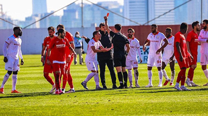 Ümraniyespor Samsunspor maçında tartışma çıkaran gol: Ümraniyespor Samsunspor maçında kural hatası mı yapıldı?